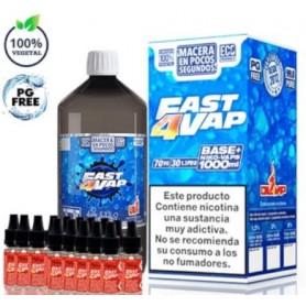 Oil4Vap Base Fast4Vap Pack 1Litro 3MG