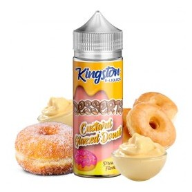 Custard Glazed Donut 100ml - Kingston E-liquids