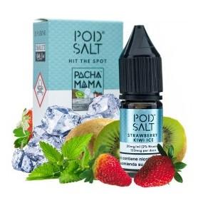 Pacha Mama Strawberry Kiwi Ice - Pod Salt Fusions