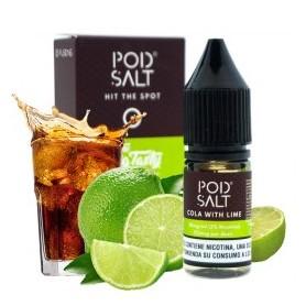 Cola With Lime - Pod Salt Fusions