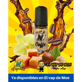 N-ELIQUIDS sales de nicotina Coffee